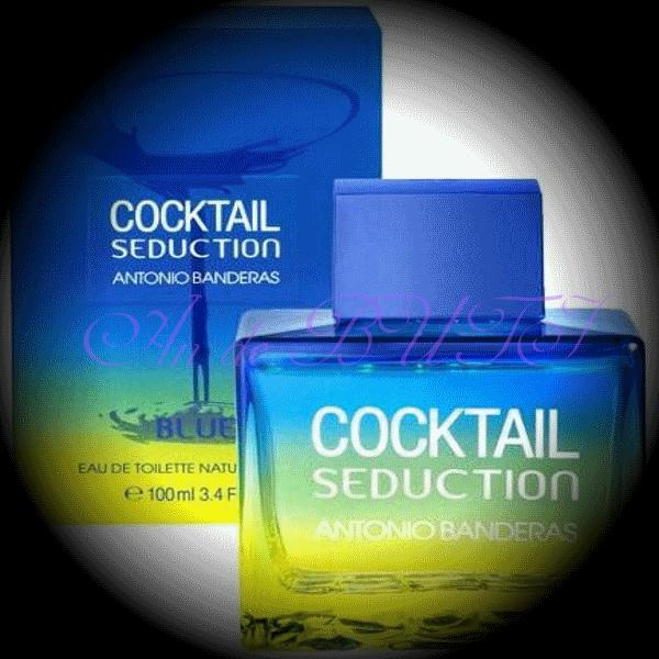 Antonio Banderas Cocktail Seduction Blue for Men 100 ml edt