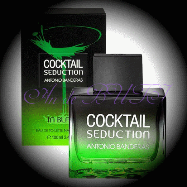Antonio Banderas Cocktail Seduction in Black for Men 100 ml edt