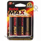KODAK MAX LR20 2BL(20)