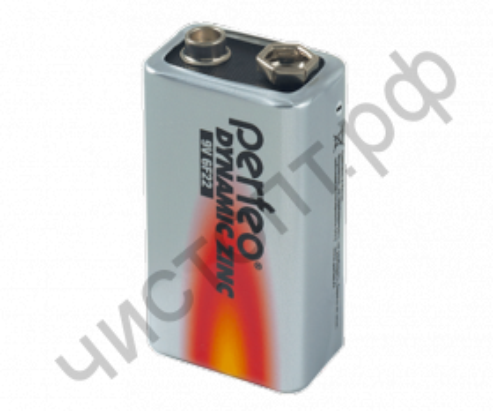 Perfeo Dynamic Zinc 6F22/1SH (10) (крона)