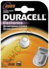 Duracell CR2025 1BL