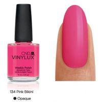 CND Vinylux Pink Bikini 134 недельный лак, 15 мл