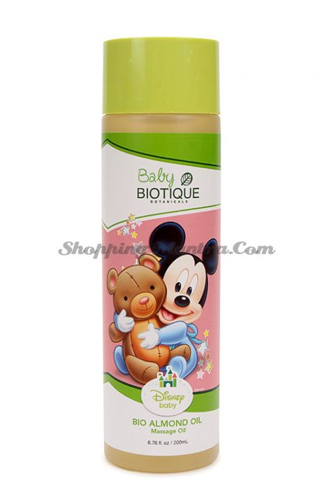 Биотик Дисней Микки Маус миндальное массажное масло для детей | Biotique Disney Mickey Mouse Bio Almond Oil Baby Oil