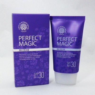 Корейский ББ крем многофункциональный WELCOS Lotus Perfect Magic BB Cream