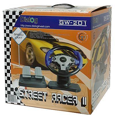 Джойстик-руль Street Racer II с эффектом вибрации GW-201