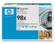 Картридж оригинальный HP 92298X (№98X)