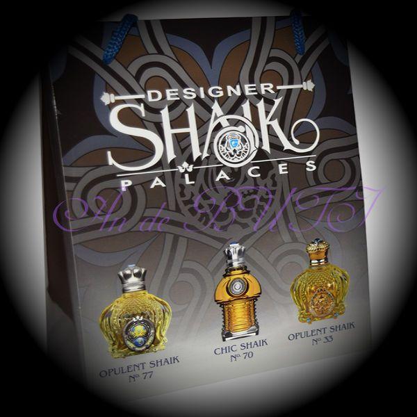 Набор Shaik 3 по 15 ml (77,70,33)