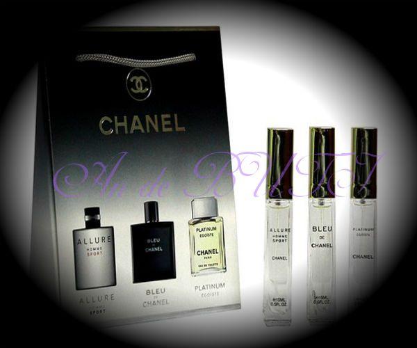 Набор Chanel 3 по 15 ml мужской