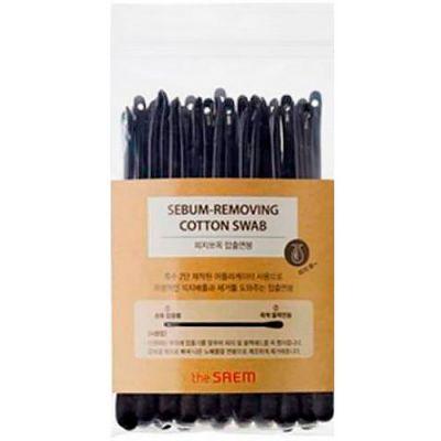 Корейские ватные палочки - набор для очистки пор SAEM Sebum-Removing Cotton Swab