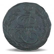 5 копеек 1769 года ЕМ