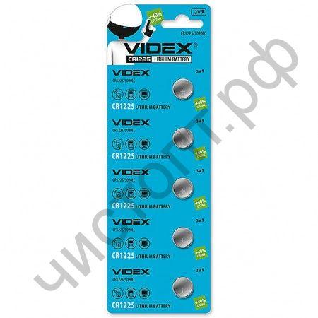 VIDEX CR1225 BL-5 Lithium (100)