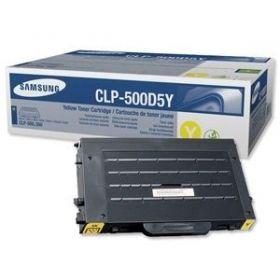 Картридж Samsung CLP-500D5Y (yellow) [CLP-500D5Y/ELS] оригинальный