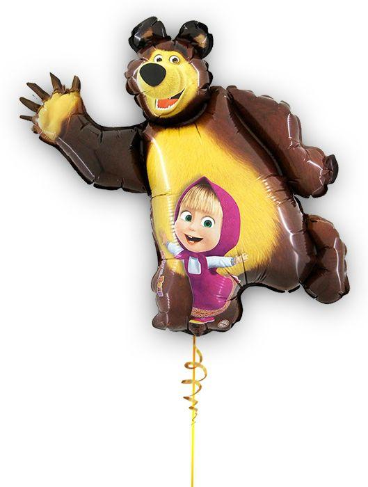 Маша и медведь шар гелиевый Ярославль