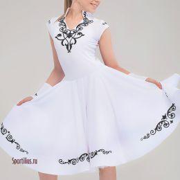 Платье для танцев, белое