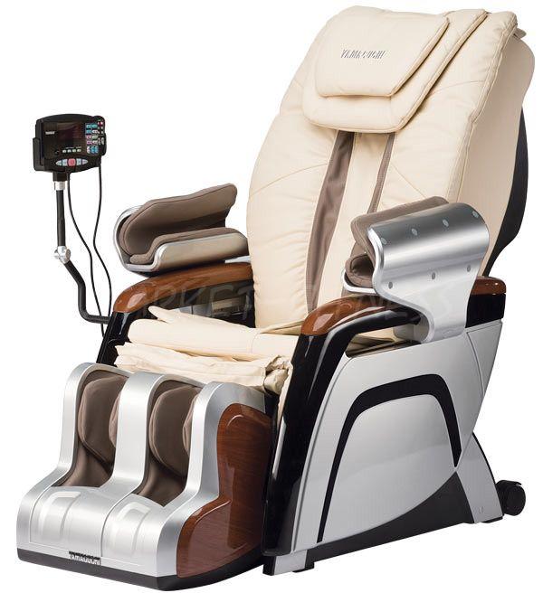 Массажное кресло YAMAGUCHI YA-3000 черный/бежевый