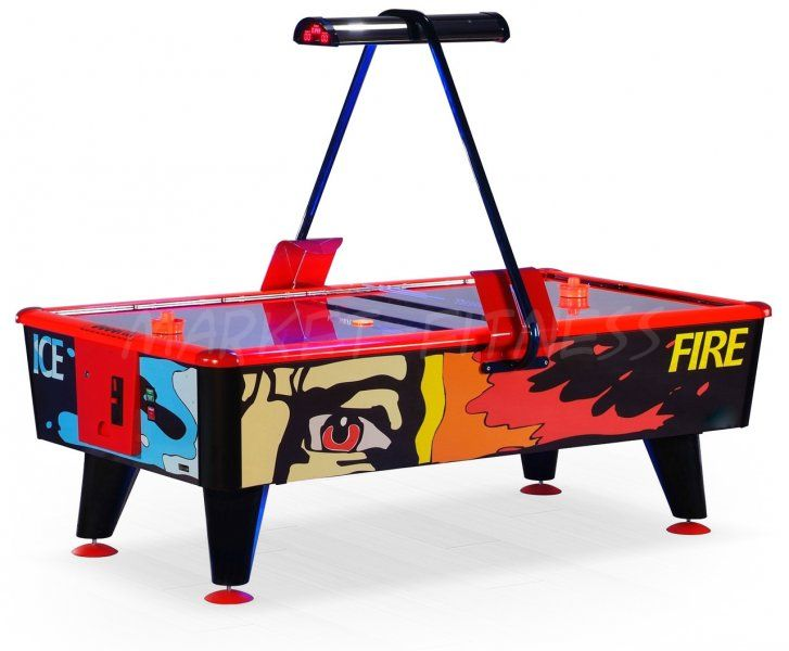 Аэрохоккей Ice Fire 6 ф жетоноприемник