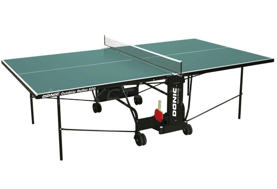 Теннисный стол DONIC OUTDOOR ROLLER 600 GREEN