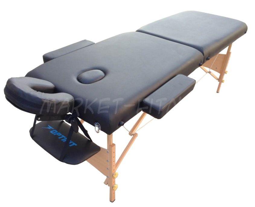 Массажный стол складной OPTIFIT BELLEZA MT-27 черный
