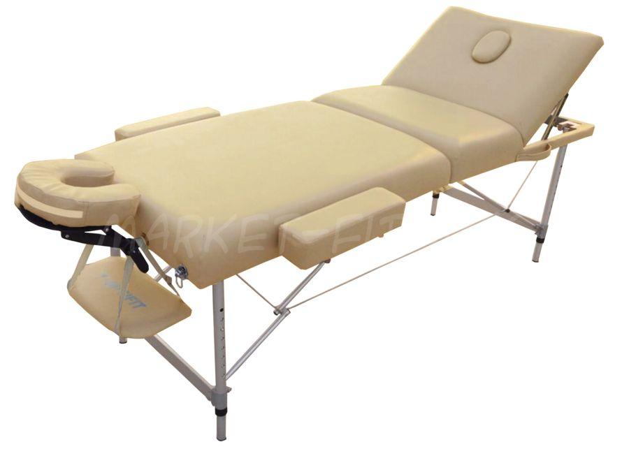 Массажный стол складной OPTIFIT LUXURY MT-55 бежевый