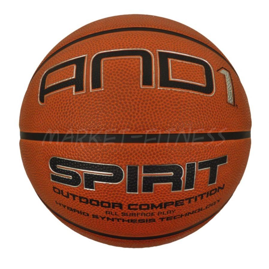 Баскетбольный мяч AND1 SPIRIT