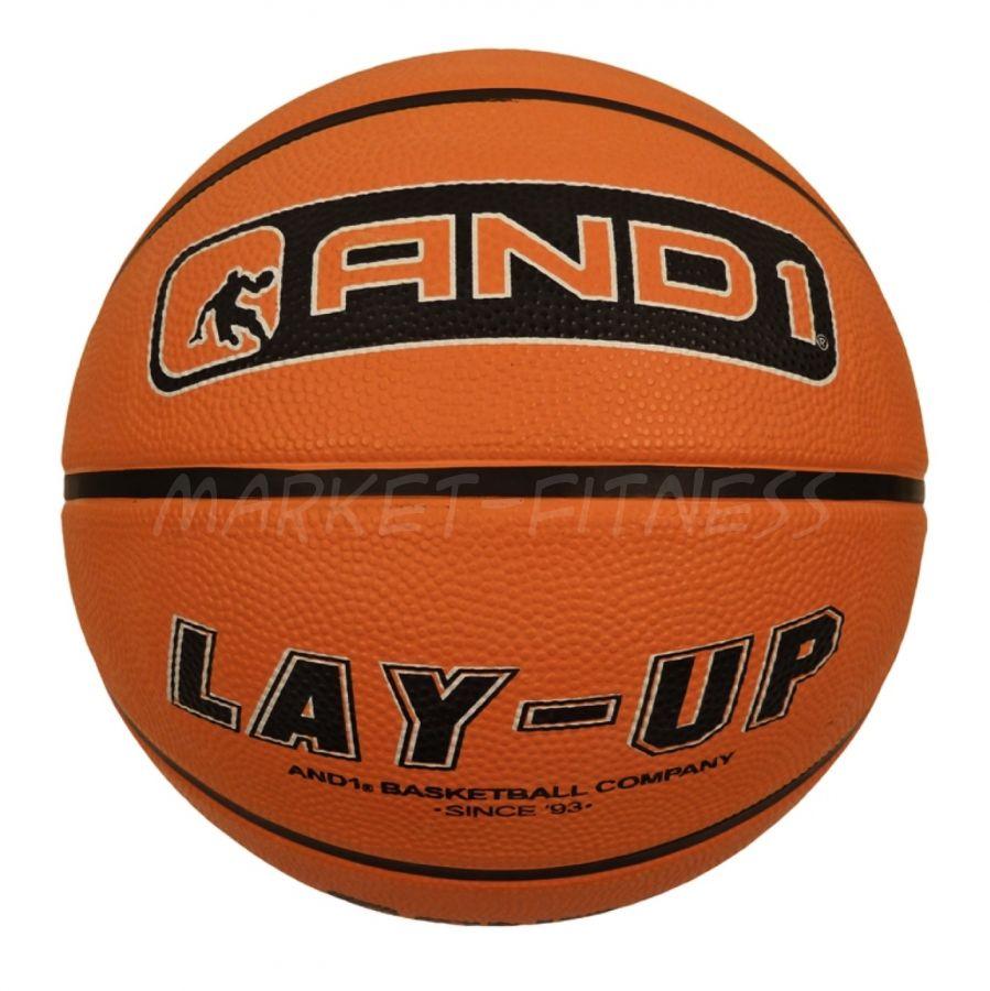 Баскетбольный мяч AND1 LAY-UP