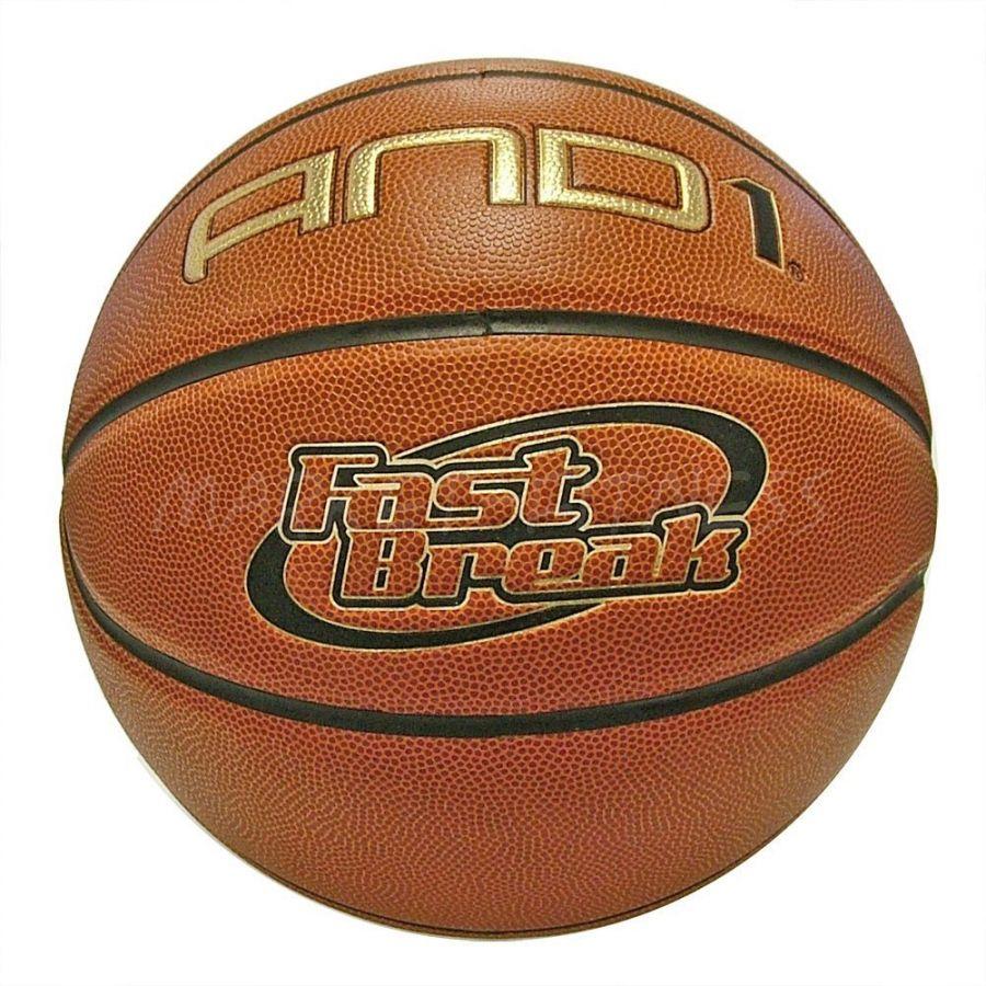 Баскетбольный мяч AND1 FAST BREAK