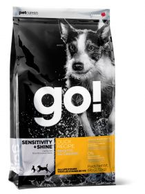 GO! Sensitivity + Shine Duck Корм для щенков и собак с цельной уткой и овсянкой для чувствительного пищеварения (5,44 кг)