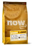 NOW FRESH Puppy Recipe Беззерновой корм для щенков с индейкой, уткой и овощами (2,72 кг)