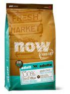 NOW FRESH Large Breed Adult Recipe Беззерновой корм для взрослых собак крупных пород с индейкой, уткой и овощами (11,35 кг)
