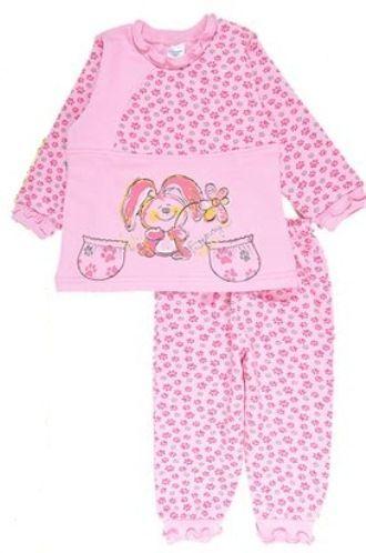 f00a579201295 Пижама теплая Зайка - теплая пижама для девочки в интернет магазине ...