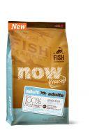 NOW FRESH Grain Free Fish Adult Recipe CF Беззерновой корм для взрослых кошек с форелью и лососем для чувствительного пищеварения (7,26 кг)