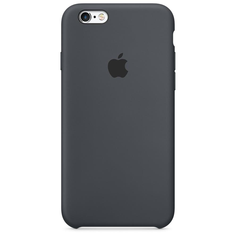 Cиликоновый чехол Apple   для iPhone 6/6s Black