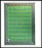 """Настенный плакат для значков """"Футбол"""" (50*68 см)"""