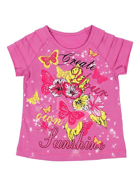 Блуза для девочки Создай свое солнце