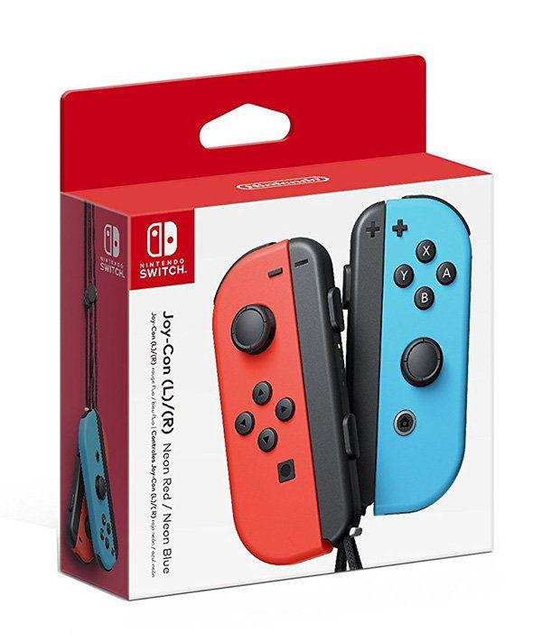 Nintendo Joy-Con controllers (nintendo switch) красный/синий