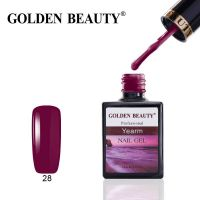 Golden Beauty 28 Yearm гель-лак, 14 мл