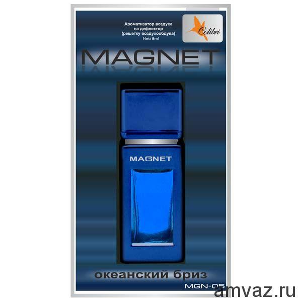 """Ароматизатор в дефлектор """"Magnet"""" Океанский бриз"""
