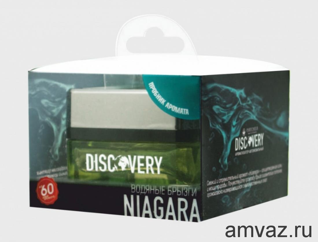 "Ароматизатор на панель банка ""Discovery Niagara"" Водяные брызги"