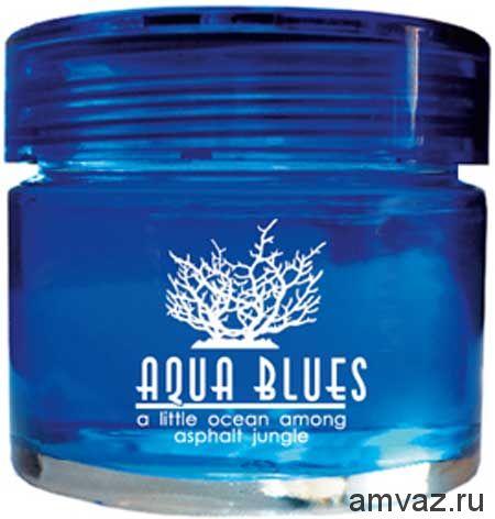 """Ароматизатор на панель банка """"Aqua Blues"""" Морской цитрусовый"""
