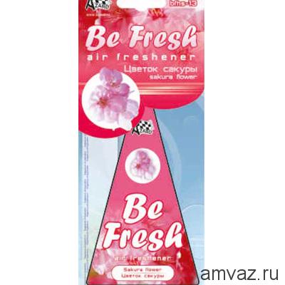 "Ароматизатор подвесной картонный ""Be Fresh"" Цветок сакуры"