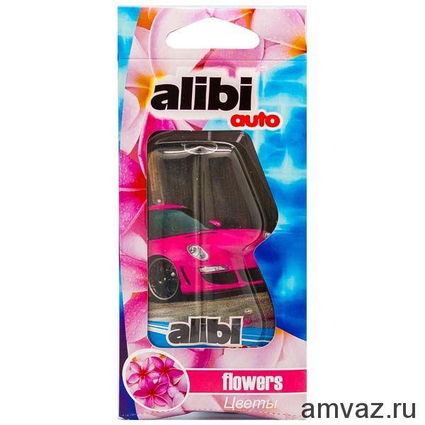 """Ароматизатор подвесной """"Alibi Auto"""" Цветы"""