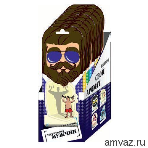 """Ароматизатор подвесной """"Patriot Путин"""" MIX (4SKUx10шт)"""