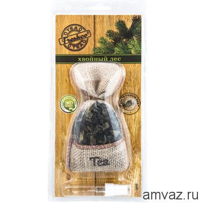 """Ароматизатор подвесной мешочек """"Freshсo Tea"""" Хвойный лес"""