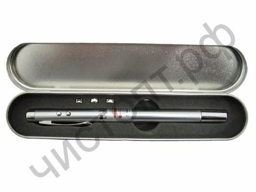 Фонарь Следопыт SL-801 (ручка-указка,лазер)