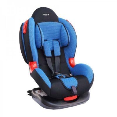 """Детское автомобильное кресло SIGER """"Кокон ISOFIX"""" красный, 1-7 лет, 9-25 кг, группа 1/2"""