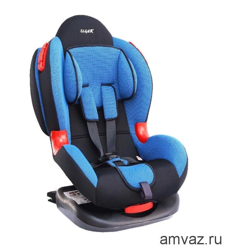 """Детское автомобильное кресло SIGER ART """"Кокон ISOFIX"""" хохлома, 1-7 лет, 9-25 кг, группа 1/2"""
