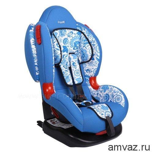 """Детское автомобильное кресло SIGER ART """"Кокон ISOFIX"""" абстракция, 1-7 лет, 9-25 кг, группа 1/2"""