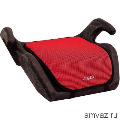 """Детское автомобильное кресло SIGER """"Мякиш"""" красный, 6-12 лет, 22-36 кг, группа 3"""