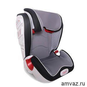 """Детское автомобильное кресло SIGER ART """"Олимп"""" серый лабиринт, 3-12 лет, 15-36 кг, группа 2/3 (2 шт)"""