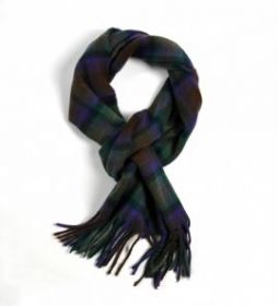 шарф 100% драгоценный кашемир , расцветка  Айл оф Скай (остров Скай) Isle of Skye, плотность 7